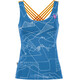 E9 Noa - Camisa sin mangas Mujer - azul